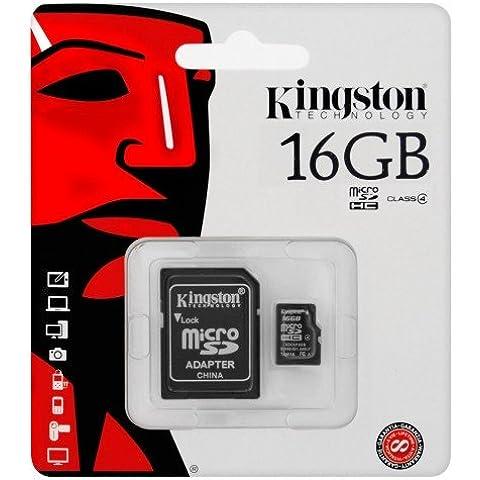 keple | 16GB SD tarjeta de memoria para street Guardian sgzc12ss Auto Cámara Dashcam Impacto Cámara camcorder| Kingston Clase 4SDHC