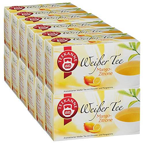 Teekanne Weißer Tee Mango-Zitrone 12er Pack - Zitrone Tee