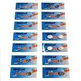 SET AG0-AG13 14 Blistercard a 2 Batterien je AG 0,1,2,3,4,5,6,7,8,9,10,11,12,13 ; (A) Eunicell