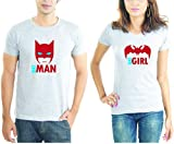 LaCrafters Couple tshirt - Batman and Ba...