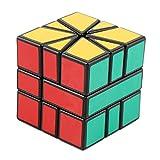 #9: FunBlast® Intelligent Square-1 Block Puzzle Cube, Creative & High Speed Stickered Edition Magic Cube