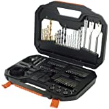 Black + Decker A7187 Titanium Drilling and Screwdriver Bit Accessory Set (100 Piece )