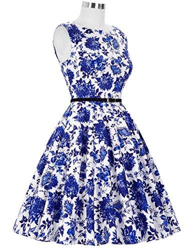 ... GRACE KARIN® 50s Retro Vintage Rockabilly Kleid Partykleider  Cocktailkleider GD6086 CL6086-32  2c9961e192