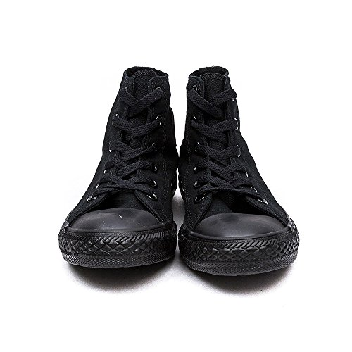 Converse Chuck Taylor all star sp high 3S121, Baskets Mode Enfant Black Mono