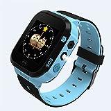 Smart Watch per bambini studenti Safe GPS Tracker SOS chiamata telecomando monitor orologio da polso con scheda SIM torcia camera