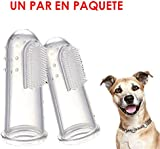 BESTIM INCUK(TM)-2 pcs Pet Silicone Finger ToothBrush for cleaning Dogs Cats Supplier