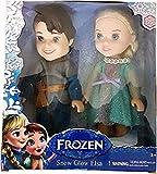 #7: Pi World Frozen Doll Pair For Kids Multicolour