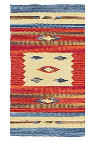 Jute & Co. Kilim - Alfombra tapete algodón