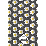"""GM&Co: Notebook Journal Dot-Grid, Lined, Graph, 120 pages 5.5""""x8.5"""": Daisy Dream"""