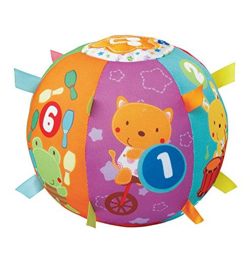 VTech 80-166104 - 1-2-3 Tierspaß Ball Ball Werfen Spielzeug