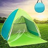 Best Beach Umbrella For Winds - DIOSN Pop Up Beach Tent Beach Shade Review