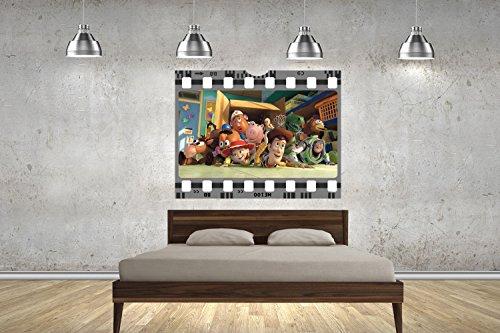 Customise4U Toy Story Film Strip Filmstreifen Wand 70cm Wand Tattoos Wandtattoos Dekorative Wandabziehbilder (Toy Mädchen Story Zeichen)