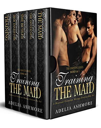 Training the Maid: The Complete Series Books 1-5: A Bisexual Victorian Menage Erotica Box Set (The Harem of Lord and Lady Harcourt Book 6) (English Edition) Serie Sub-box