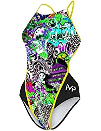 MP Michael Phelps Girls Dale Swimsuit Size 32