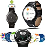 Introducing Most Powerful Indigi A6 Android 4.4 OS 3G Smart Watch Cell Phone - featuring a 1.54in Capacitive Color Touch Screen Display that even has built-in heart rate monitor sensor plus it can deliver a great performance due to having a Dual Core...