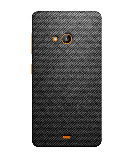 PrintVisa Designer Back Case Cover for Microsoft Lumia 535 :: Microsoft Lumia 535 Dual SIM :: Nokia Lumia 535 (Texture Brown Background Blue Backcase Pouch )  available at amazon for Rs.354