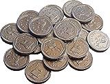 Silber Milchschokolade 50p Münzen (Packung mit 25)