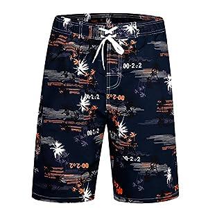 ICEbear Uomini Swim Trunks Cool Sportswear Quick Dry Pantaloncini da surf da spiaggia 1 spesavip