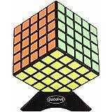 Dodolive Shengshou 5x5x5 esmerilado Cubos magicos para bricolaje Cubos Reproduccion velocidad,Negro