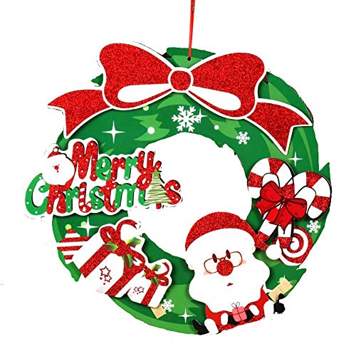 Sungpunet Weihnachten Haustier Hund Kleidung Cotton Welpen Kostüm Big Size (Grün) Weihnachtsschmuck
