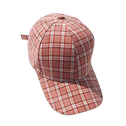 Demarkt Unisex Kappe Baseballmütze Kariertes Muster Sun Golf Cap Justierbarer Hut für Outdoor und Reisen Size 56-58cm (Stil 6)