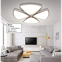 Beata.T Led minimalista moderno soggiorno personalità artistiche Creative camera da letto lampade, 65cm di luce a