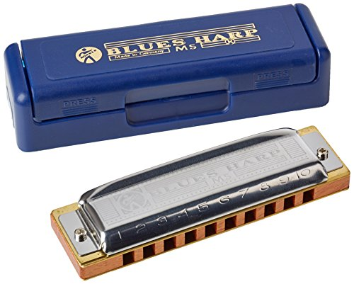Hohner Blues Harp M533056 - Armónica en clave de Mi