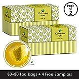 Best Iced Tea Bags - Octavius Pure Green Tea - 32 Tea Bags Review