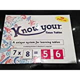 Know Your Times Tables Learning System - Now With Extras For The Government Times Tables Test