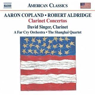 Aldridge/ Copland: Clarinet Concertos