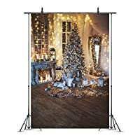 Tobey Trevelyan Safety New Merry Christmas Cloth Photography Backdrops Living Room Christmas Tree Decorations Backgrounds(None L 10115157 220 * 150cm)