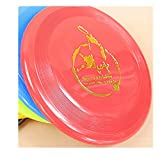Spritech(TM) Pet Dog Frisbee Flying Disc Tooth Resistant Outdoor Dog Training Fetch Toy Random Color by Spritech