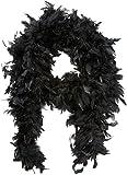 Boland 52601 - Federboa, Circa 180 cm, schwarz