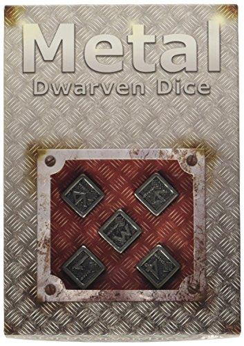 Preisvergleich Produktbild Q-Workshop 56MDW35 - Metall Dwarven D6 Dice (5)