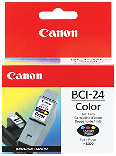 Photo Magenta Ink Tank (Canon 6882A002 - BCI 24C - Ink tank - 1 x yellow, cyan, magenta - 170 pages)