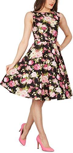Black Butterfly 'Audrey' Vintage Divinity Kleid im 50er-Jahre-Stil - 4
