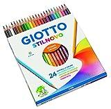 Giotto Stilnovo pastelli colorati  in astuccio 24 colori immagine