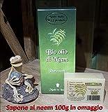 Olio di Neem puro biologico certificato Ecocert Biocertitalia 250ml. + sapone omaggio