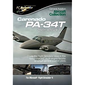 Carenado PA-34T Seneca II – Add-on (Englisch) für Microsoft Flight Simulator X (FSX) & Prepar3D