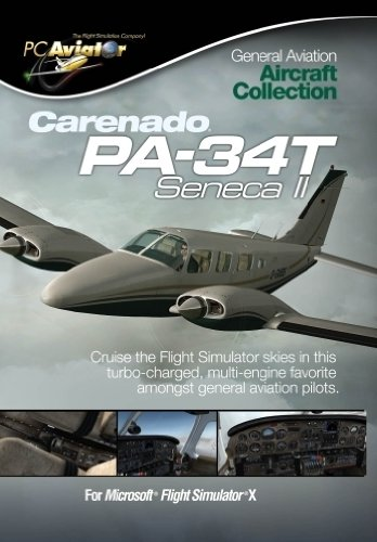 Carenado PA-34T Seneca II - Add-on (Englisch) für Microsoft Flight Simulator X (FSX) & Prepar3D