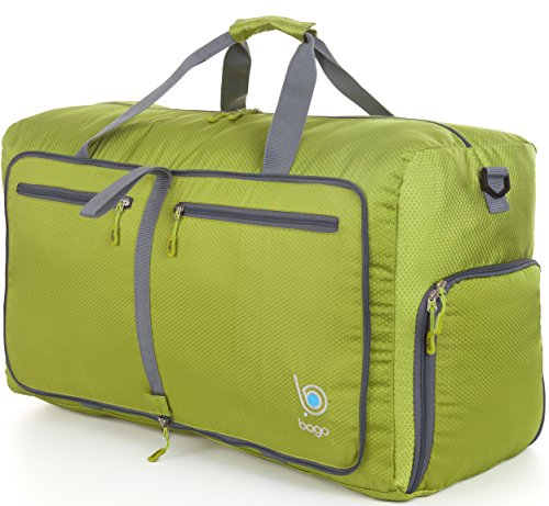 bago-duffle-bag-for-travel-luggage-gym-sport-camping-lightweight-foldable-into-itself-duffel-27-gree