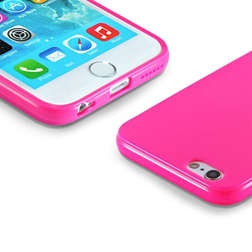iPhone 8 Hülle, iPhone 7 Hülle - iHarbort iPhone 7/ 8 Hülle Tasche Case Cover ultra dünne TPU Silikon-Gel-Abdeckung Schutzhülle für Apple iPhone 7/ 8, Transparent Rosa