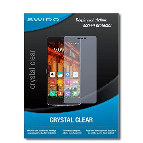 SWIDO Bildschirmschutzfolie für Elephone P9000 Lite [3 Stück] Kristall-Klar, Extrem Kratzfest, Schutz vor Öl, Staub & Kratzer/Glasfolie, Bildschirmschutz, Schutzfolie, Panzerfolie