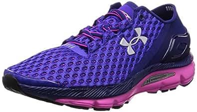 Under Armour Ua W Speedform Gemini, Chaussures de Running Femme - Violet (epp 540), 36 EU