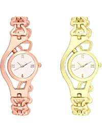 OpenDeal New Fashion Best New Collection Popular Combo Watches For Girls Womens OD-W318 (Pack Of 2)
