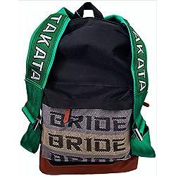 Bride mochila con correas de carreras takata (Bride backpack JDM)
