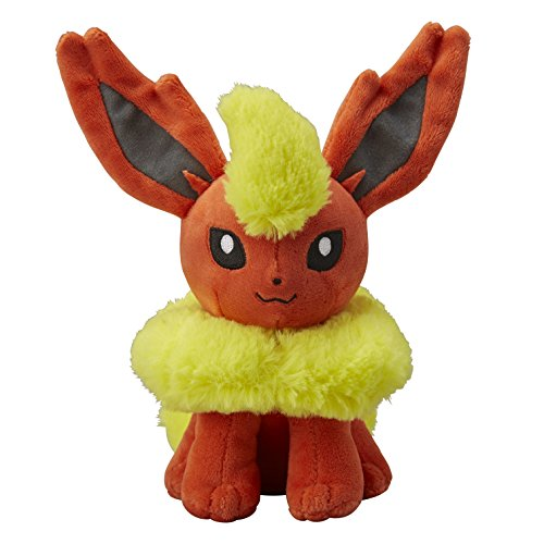 Pokemon-Center Original-Plüsch-Puppe Flamara Plüschtiere (Pokemon Go) (Pokemon-center-plüsch-bulbasaur)