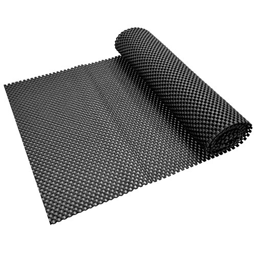 Rug Gripper for Carpet - Non Slip Matting - Multipurpose Anti Slide Mat - Antislip Underlay - (Black)