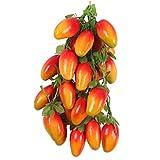 Sharplace 5Pcs Hängen Deko Obst Kunstobst Kunstgemüse Künstliches Obst Gemüse für Heim Garten Dekoration - Red Mango, One Size