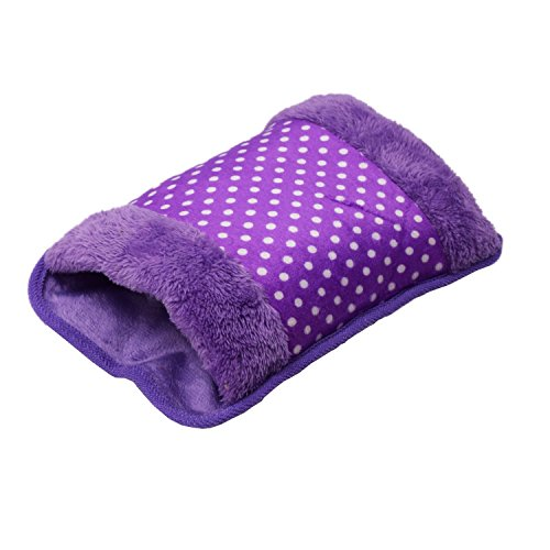 Amazing Mall Electric Hot Bag, Hand Warmer, Electric Heater Warm Bag, Heating Gel Pad Fur Velvet With Hand Pocket Pain Relieve